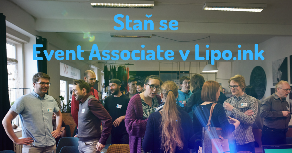 Staň se Event Associate v Lipo.ink